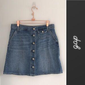 e6af0843a Women Gap 1969 Denim Skirt on Poshmark